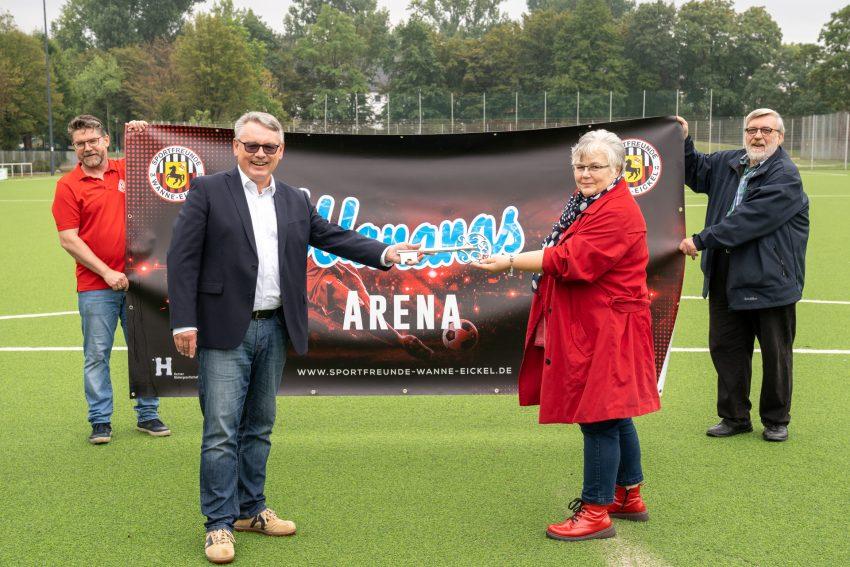 Livia Leichner Stadion wird zur Wanans-Arena.