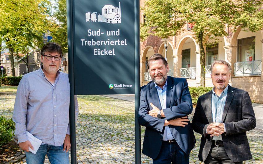 v.l. Philipp Star, Martin Kortmann, Holger Wennrich.