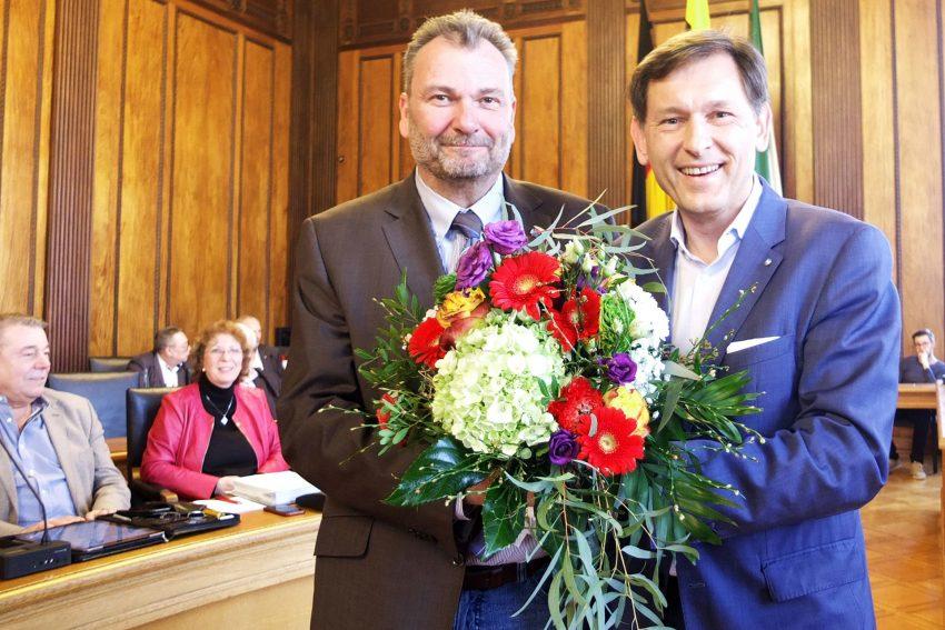 v.l. Karlheinz Friedrichs, Frank Dudda.