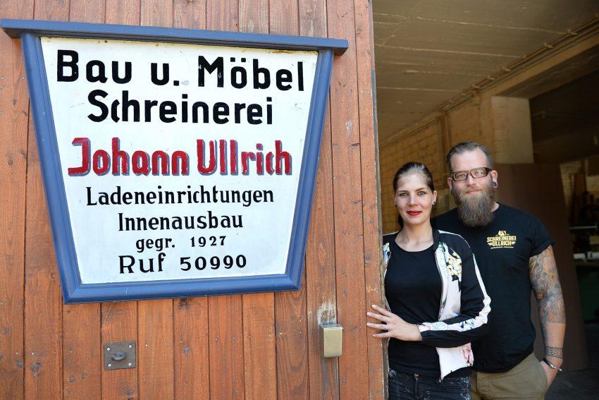 Matthias und Laura Biere haben die Schreinerei Ullrich übernommen.