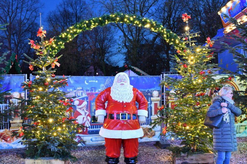Der Cranger Weihnachtszauber am Eröffnungstag
