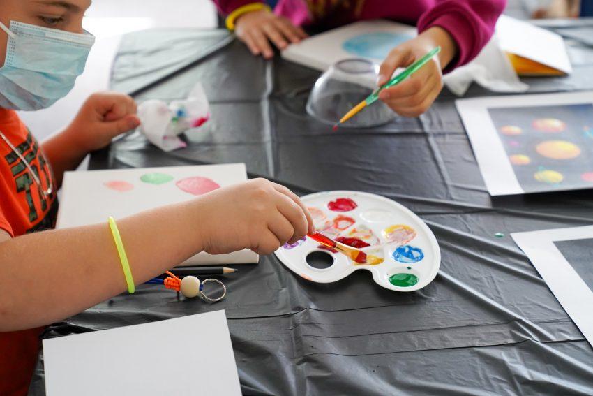 Weltkindertag im Lotus Bildungszentrum am Sonntag, 20. September 2020.