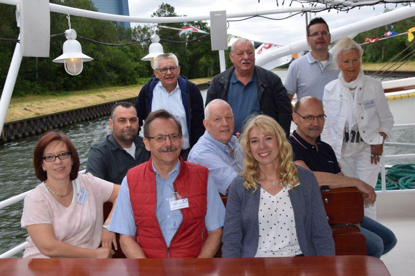 Aufsichtsrat, Vorstand und Mitarbeiter des Bauvereins Sodingen eG.