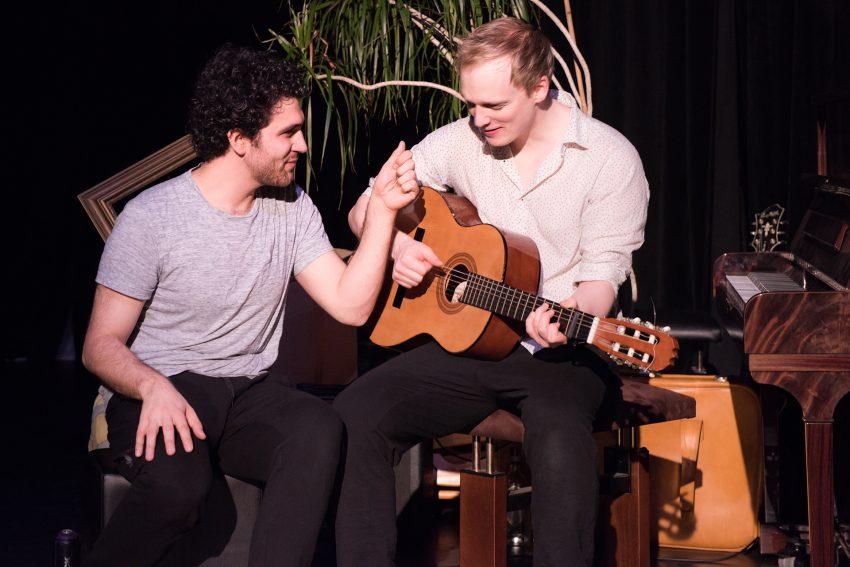 Protagonisten der Bochumer Urbanatix-Show 2018: Nils Kretschmer und David Vormweg.