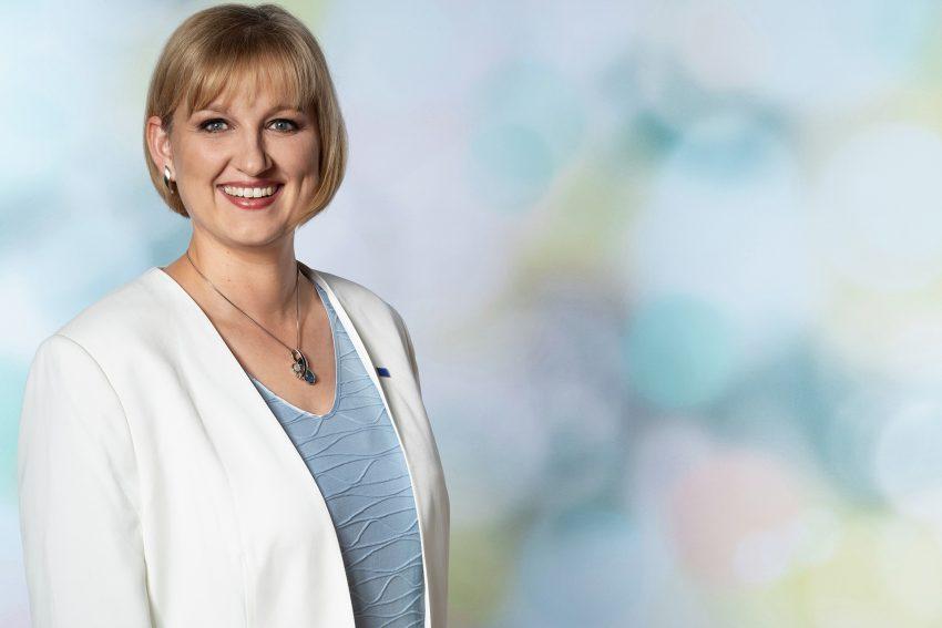 Europakandidatin: Kirsten Eink.