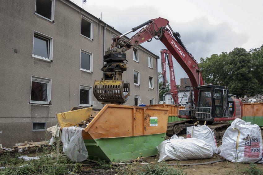 Häuser an der Lohstraße wurden abgerissen