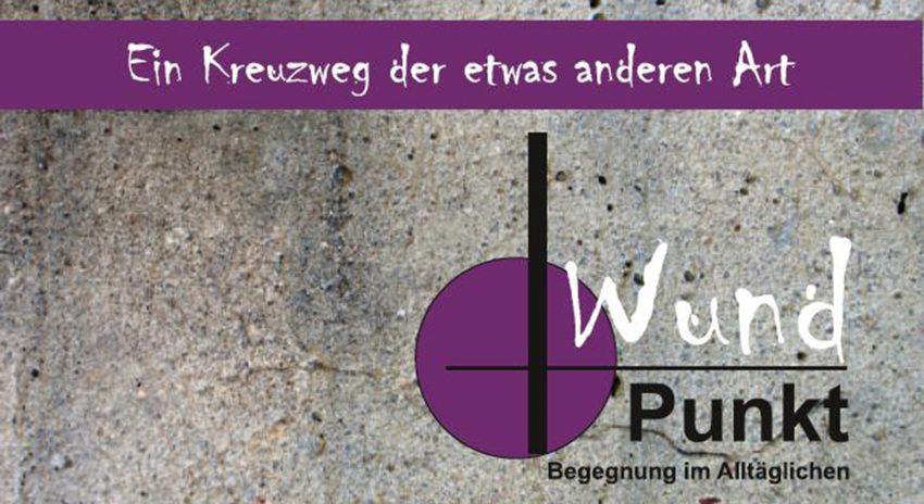 Plakat 'wundPunkte'.
