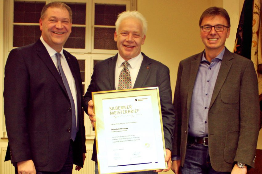 v.l. Martin Klinger, Detlef Haschek, Rüdiger Sprick.
