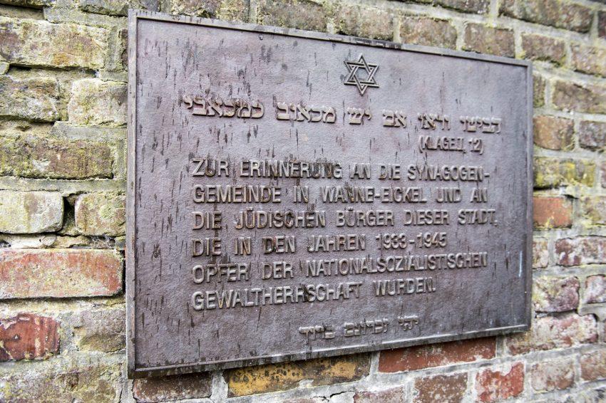 Die Pogromgedenkfeier der Stadt Herne.