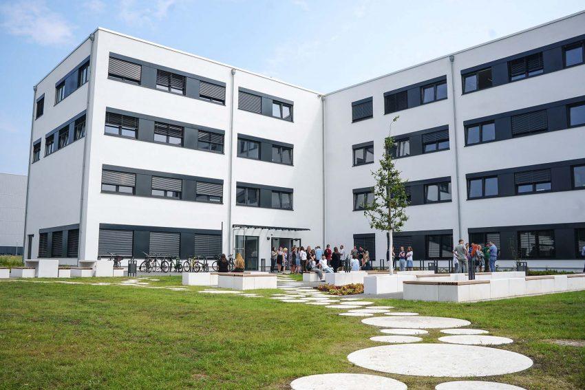 Einweihung des neuen Gebäudes an der FH Dortmund.