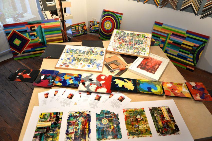 Bilder- und Rahmengalerie: Passepartout.