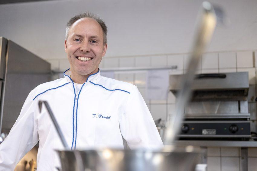 Küchenchef der Guten Stube: Thorsten Brodal.