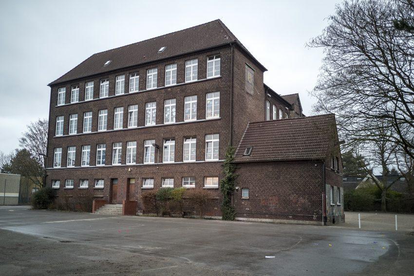 Die Grundschule an der Forellstrasse in Herne (NW), am Freitag (01.03.2019). Sie wird wahrscheinlich 2020 durch einen Neubau ersetzt. Das Schulgebäude wurde 1898 errichtet und 1934 erweitert.