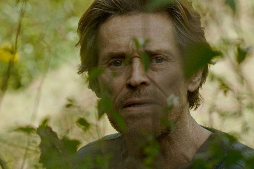 "Willem Dafoe in ""Siberia""."