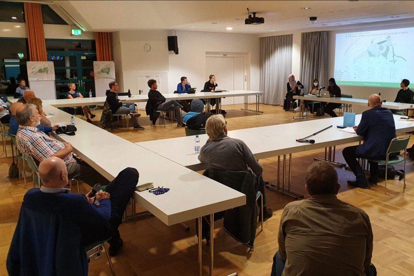 Während des OAK Wirtschaft stellten Masterstudenten der TU Dortmund ihre Ideen zur Blumenthal Entwicklung vor.
