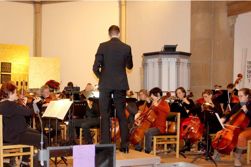 Das Kammerorchester der Kreuzkirche.