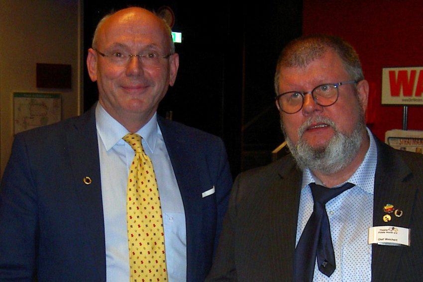v.l. Klaus Mahlberg, Olaf Weichert.