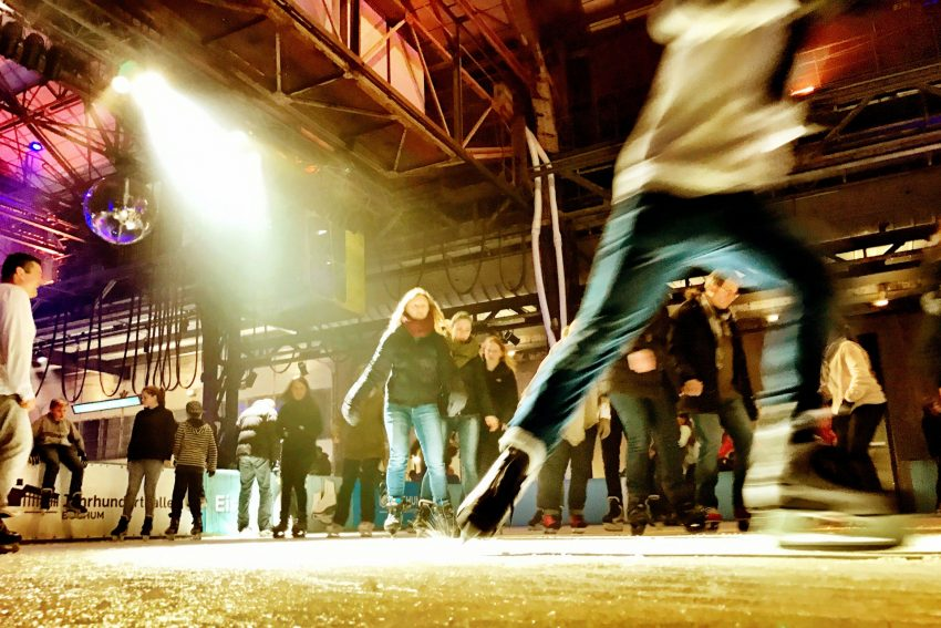 Der Eissalon in der Jahrhunderthalle Bochum
