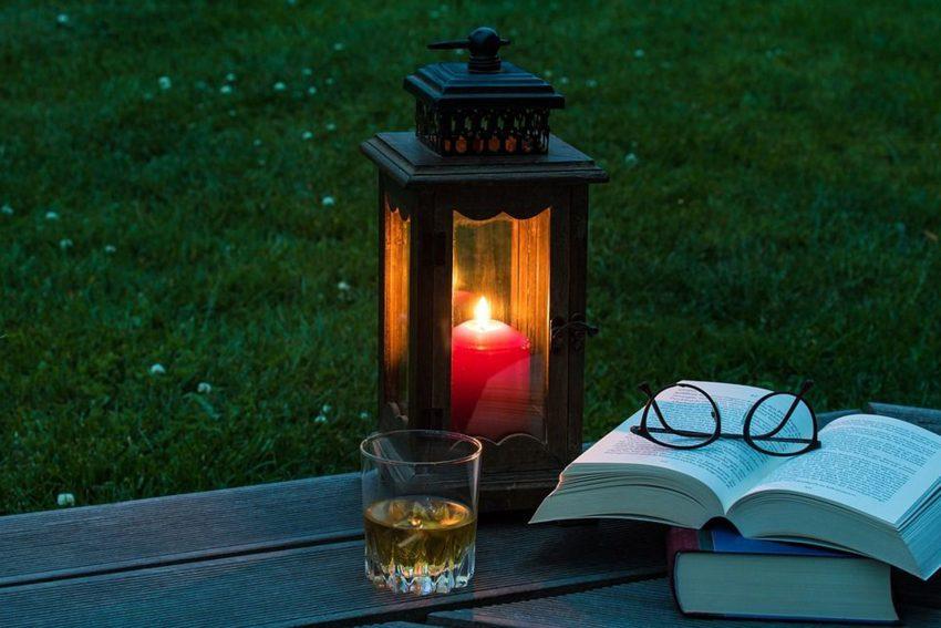 Einladung zu einem lauen Sommerabend - mit Literatur und Musik.