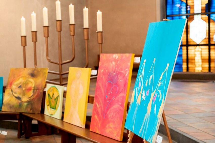 Antworten auf spirituelle Themen in sich selbst finden und wirken lassen - mit Hilfe von Farbe und Form.