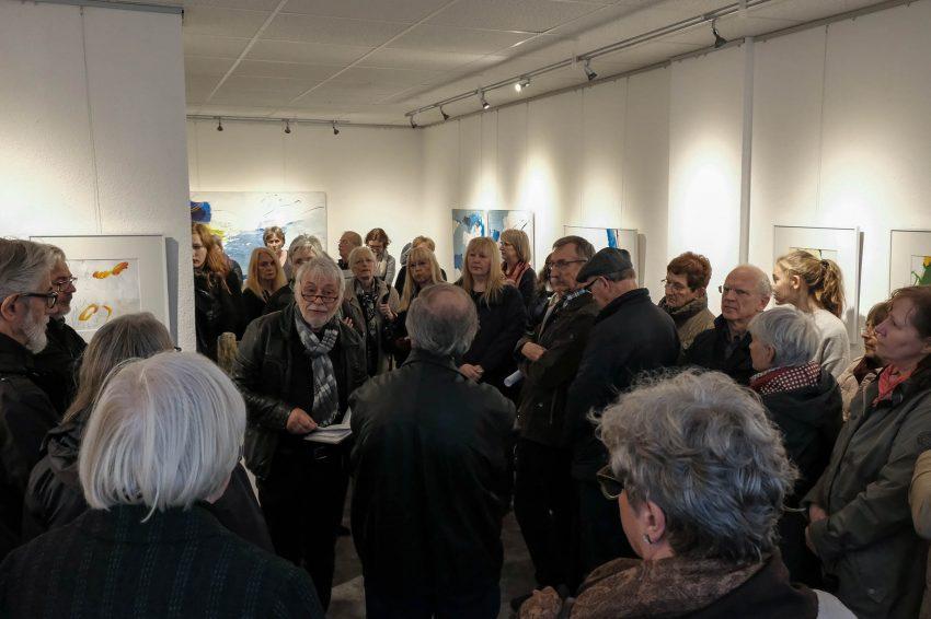 Ausstellung in der Galerie Kunstpunkt.