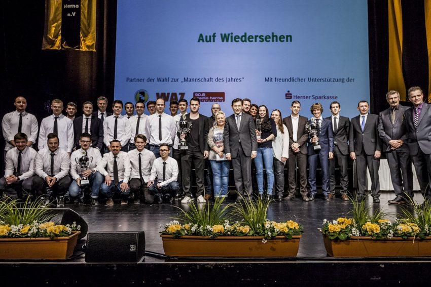 Preisvergabe Mannschaft des Jahres. (Archiv)