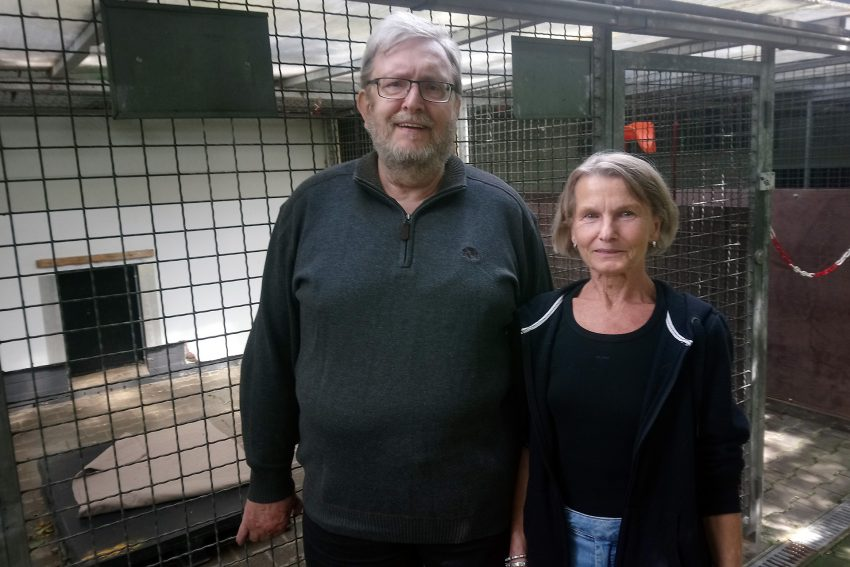 v.l. Fritz Pascher, Veronika Wolff.