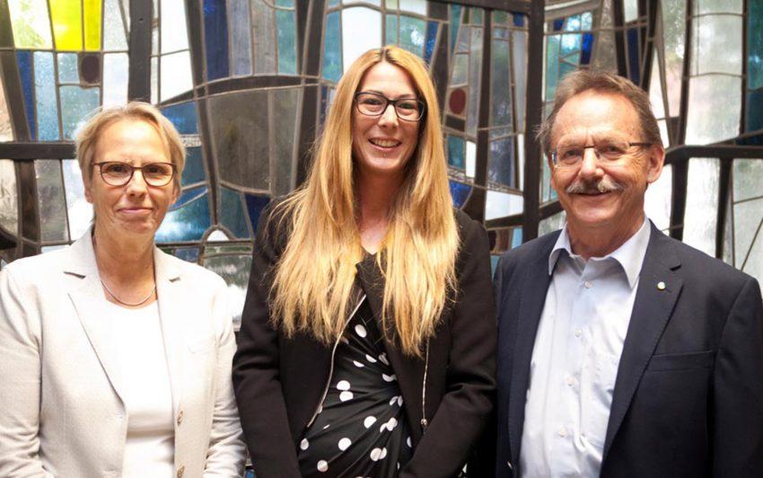 v.l. Gudrun Thierhoff, Stephanie Jordan, Ulrich Klonki