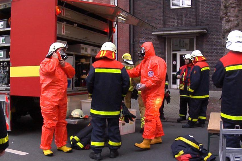 Knödelpulver ruft Feuerwehr, Polizei und Task Force auf den Plan.