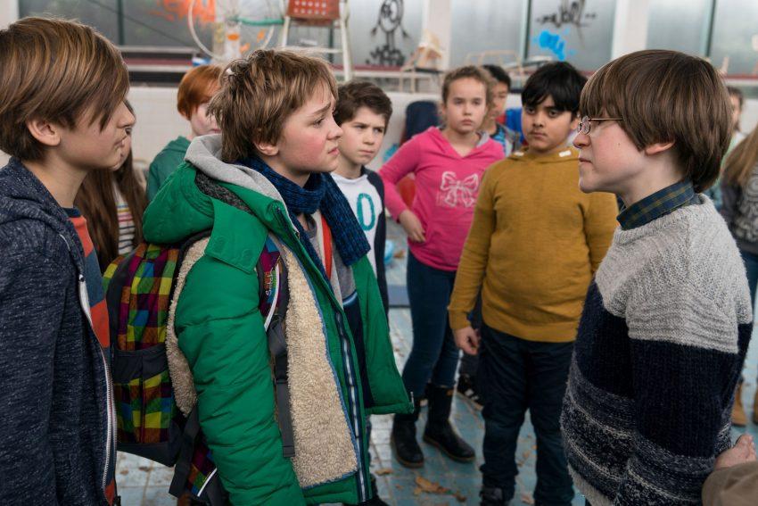 Unheimlich perfekte Freunde: Auch beste Freunde streiten sich mal: Frido (Luis Vorbach) und Emil (Jona Gaennslen).
