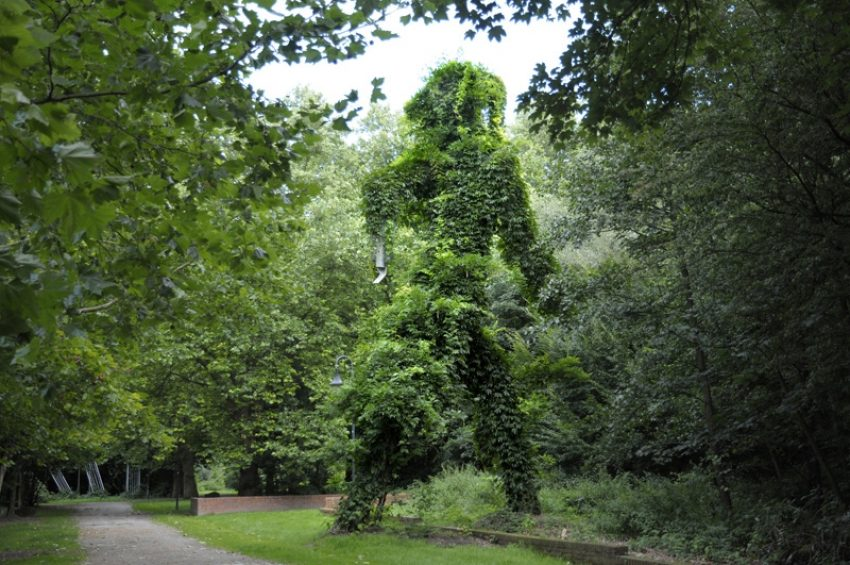 Kunstwald-Park Teutoburgia.