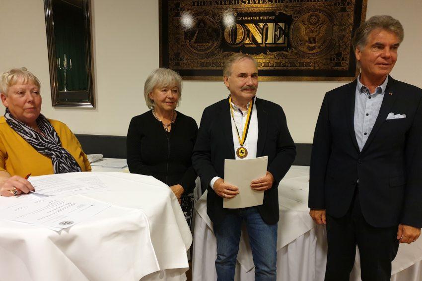 v.l. Gertrud Wertenbruch, Marion Balster, Uwe Deike, Dr. Klaus Balster.
