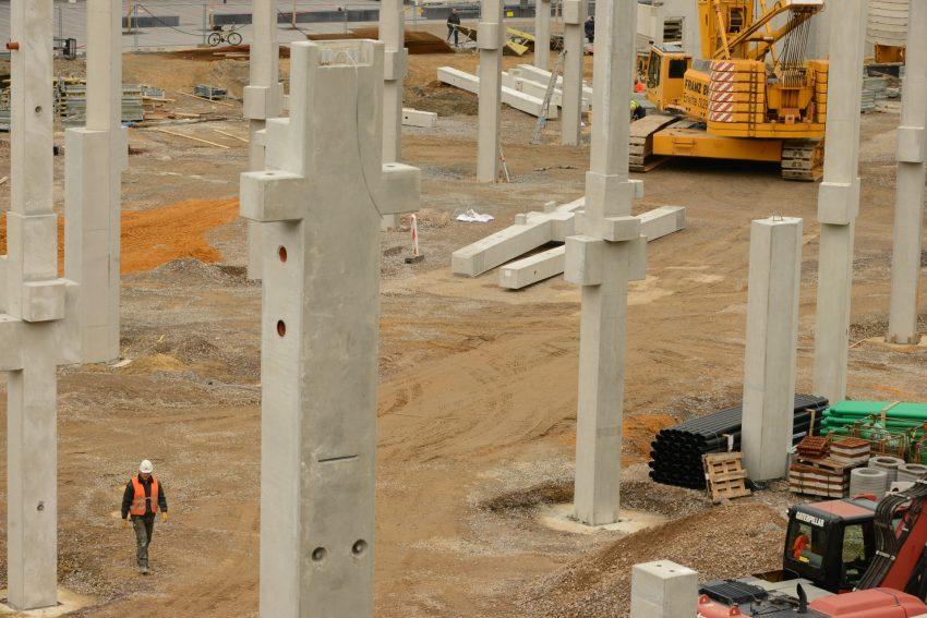 Baustelle Kaufland in Wanne am Glück-Auf-Platz