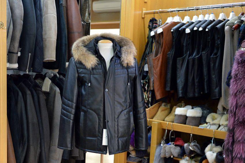 Mode in Pelz und Leder - Wältermann. Ein Blick in die Männerabteilung.