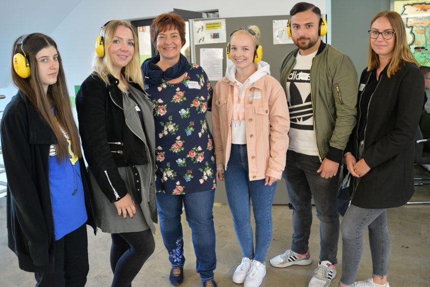 Azubi-Inklusions-Tag 2019: die Station der Höhrbehinderung.