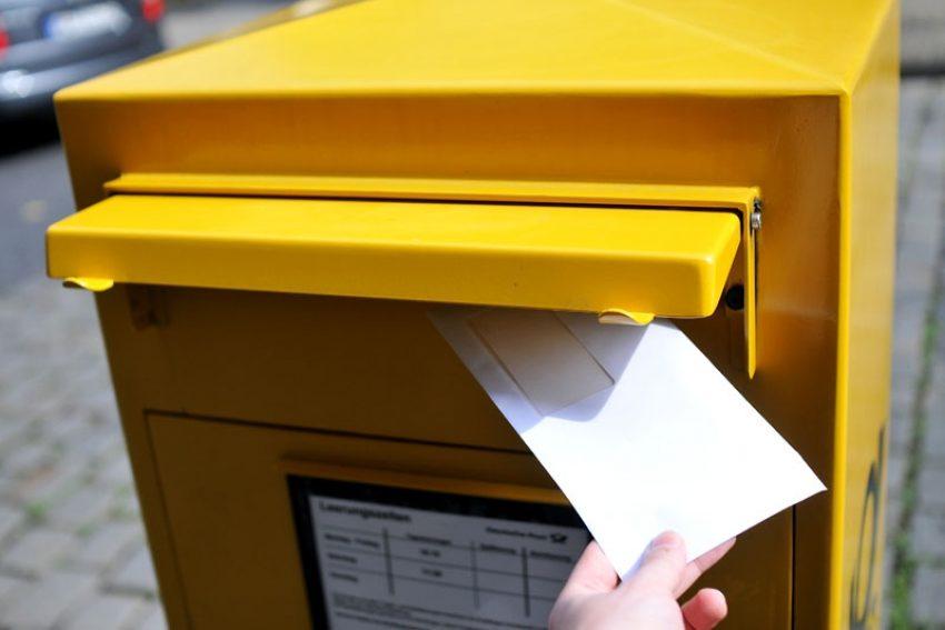 Briefwahl.