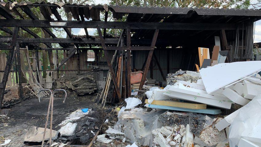 Zweiter Brand bei Dachdecker Diekmann.
