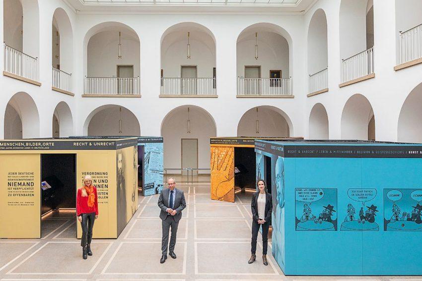 Ausstellung: Menschen, Bilder, Orte - 1.700 Jahre jüdisches Leben in Deutschland. Dr. Barbara Rüschoff-Parzinger, Matthias Löb, Dr. Laura Cohen.