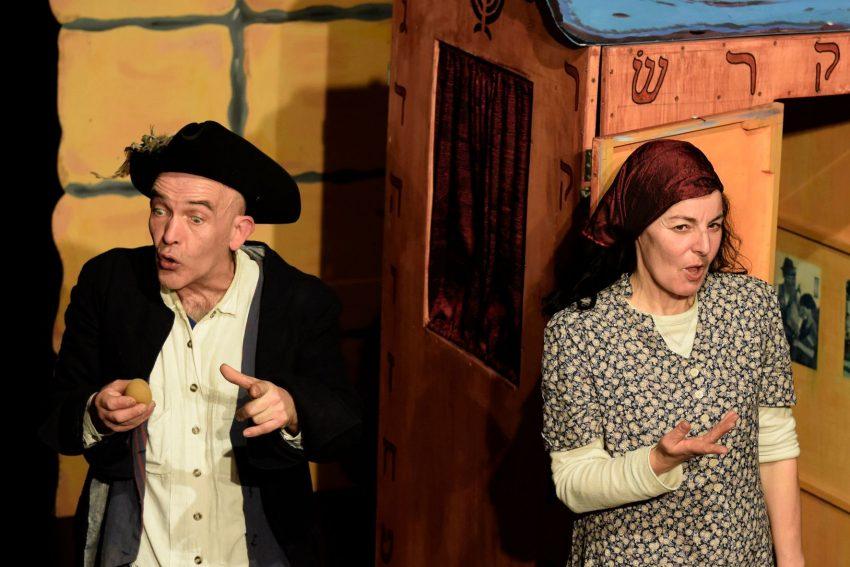Theater Traumbaum: mit dem Stück Schlamassel - für Menschen ab 7 Jahren.