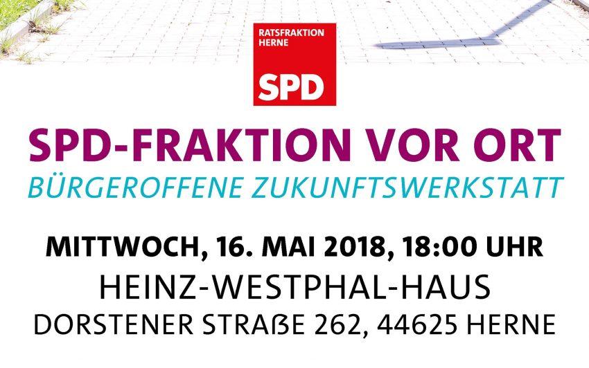 Plakat zur Zukunftswerkstatt.