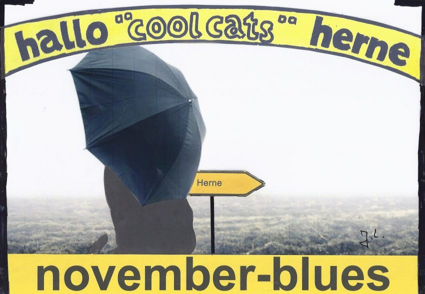 November-Blues im September 2017.