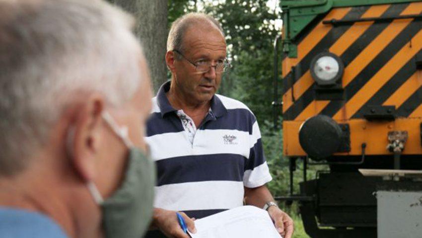 Verkehrswacht Jahreshauptversammlung, im Bild Reinhard Dembowy Geschäftsführer