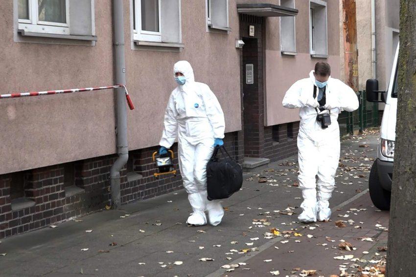 Einsatz für die Kriminalpolizei in einem Mehrfamilienhaus an der Bahnhofstraße