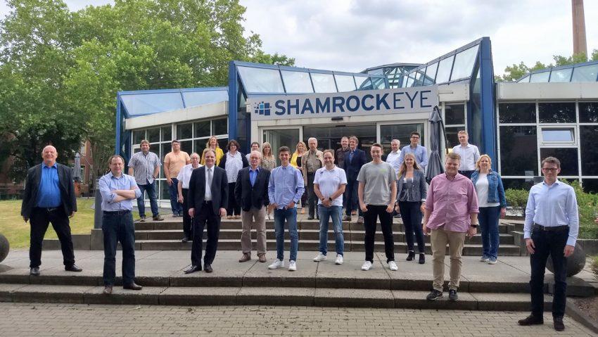 Gruppenfoto der FAKT AG bei der Bezirksvorstandssitzung der FDP Ruhr.
