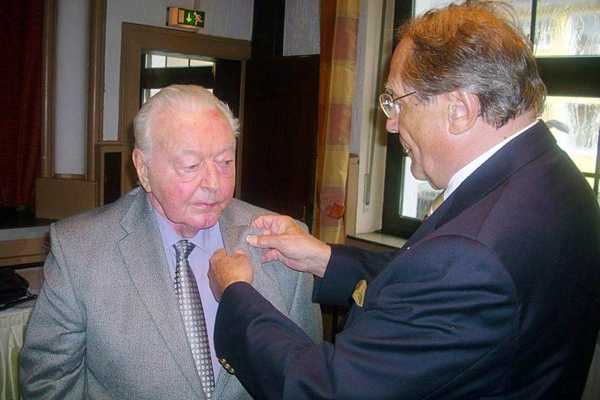 Werner Kleiber (links)