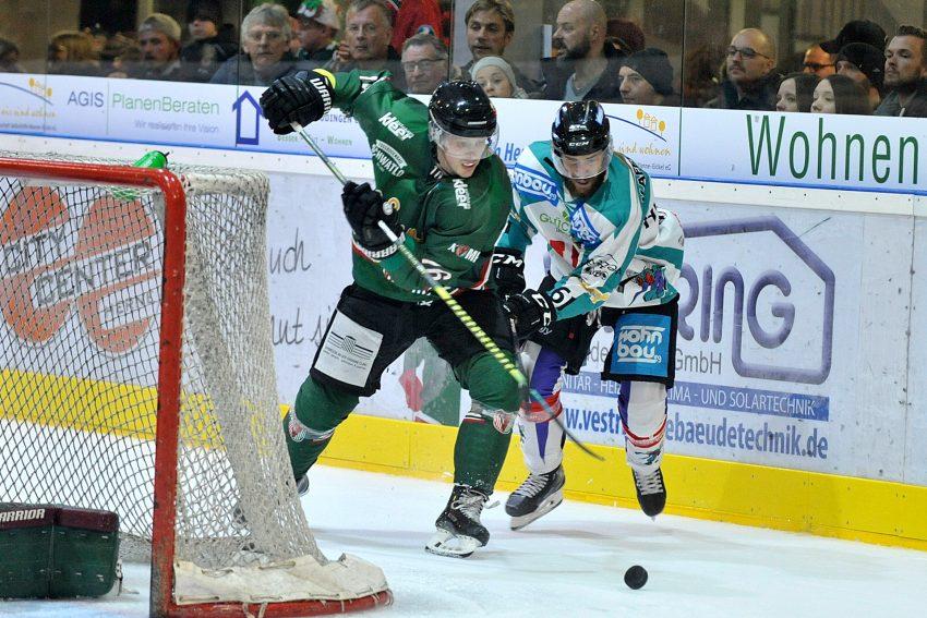 Eishockey-Oberliga-Nord: HEV-Essen (1.11.2019).