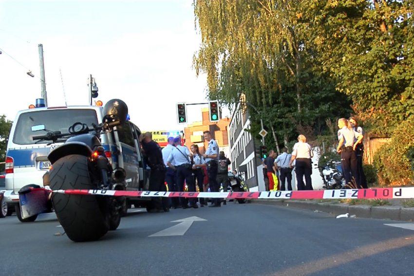 Der Einsatz an der Holsterhauser Straße (Archiv)