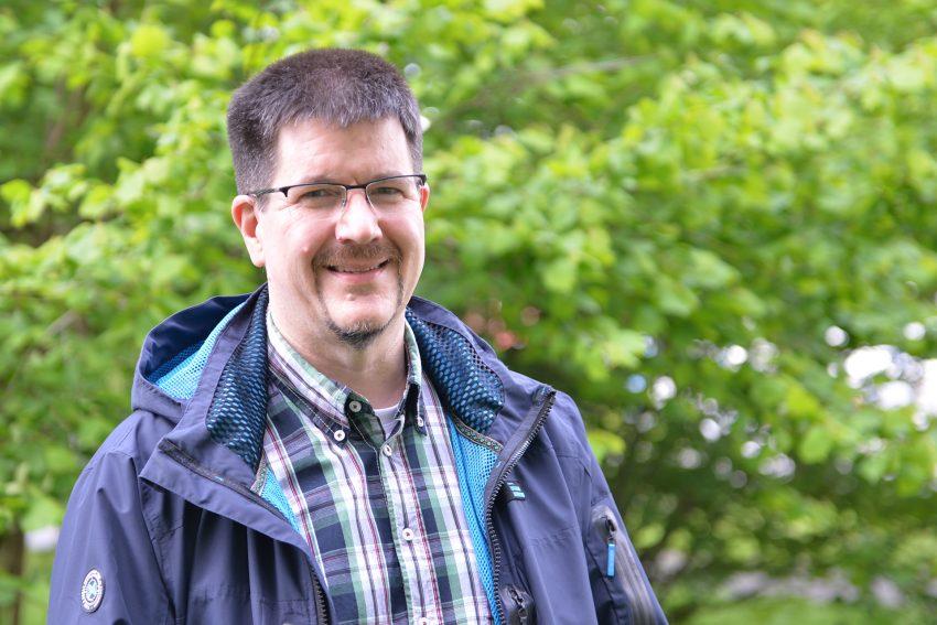 Thomas Moder, der Leiter des Spielezentrums.
