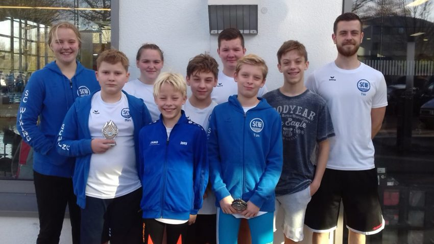 31 Medaillen für den SC Wiking Herne beim 4. Pokalschwimmen der SVg Bottrop
