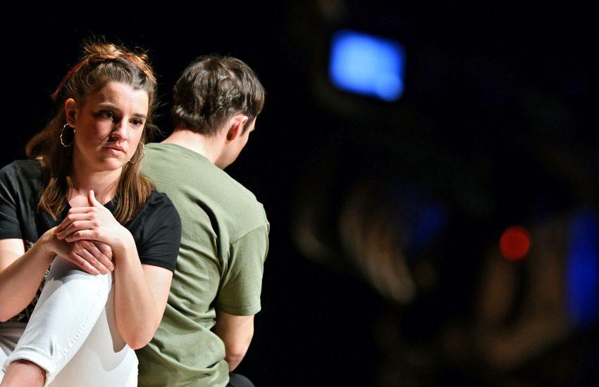 Noch in alter Besetzung: Susanne (Sabrina Sauer) und Jens aka 'Cold' (Adrian Kraege).